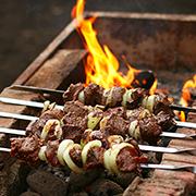 Сайт ресторана «Шашлычный двор»