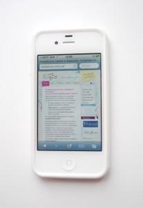 сайт на iphone