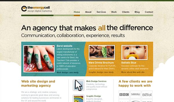 гранж в веб дизайне