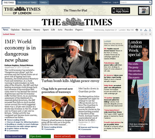 times, газета время