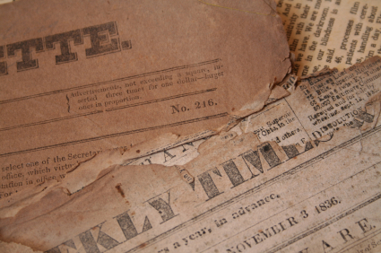 old-newspapers, старая газета