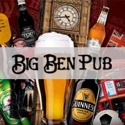 Редизайн главной страницы Big Ben Pub