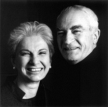 Massimo and Leila Vignelli