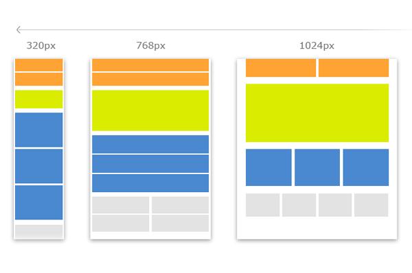 Пример адаптивного интерфейса
