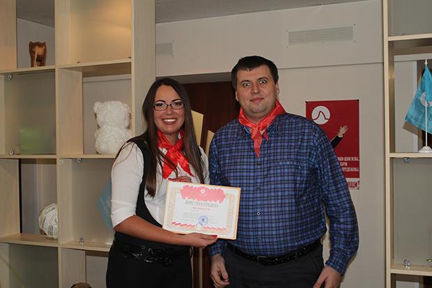 Директор Анна и менеджер Валерий