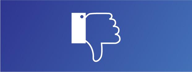 Игнорирование негативных отзывов