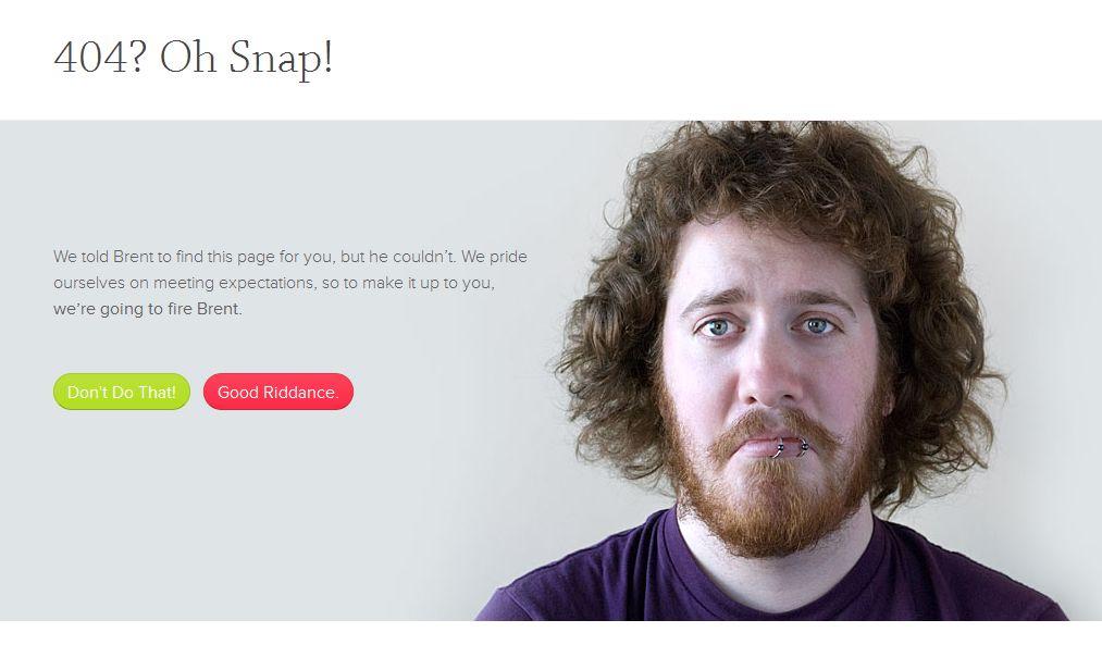 Угрозы на странице 404