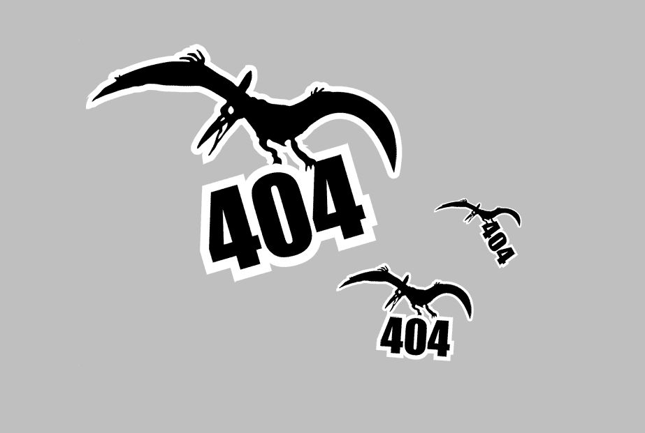 Оформленная в духе минимализма страница 404