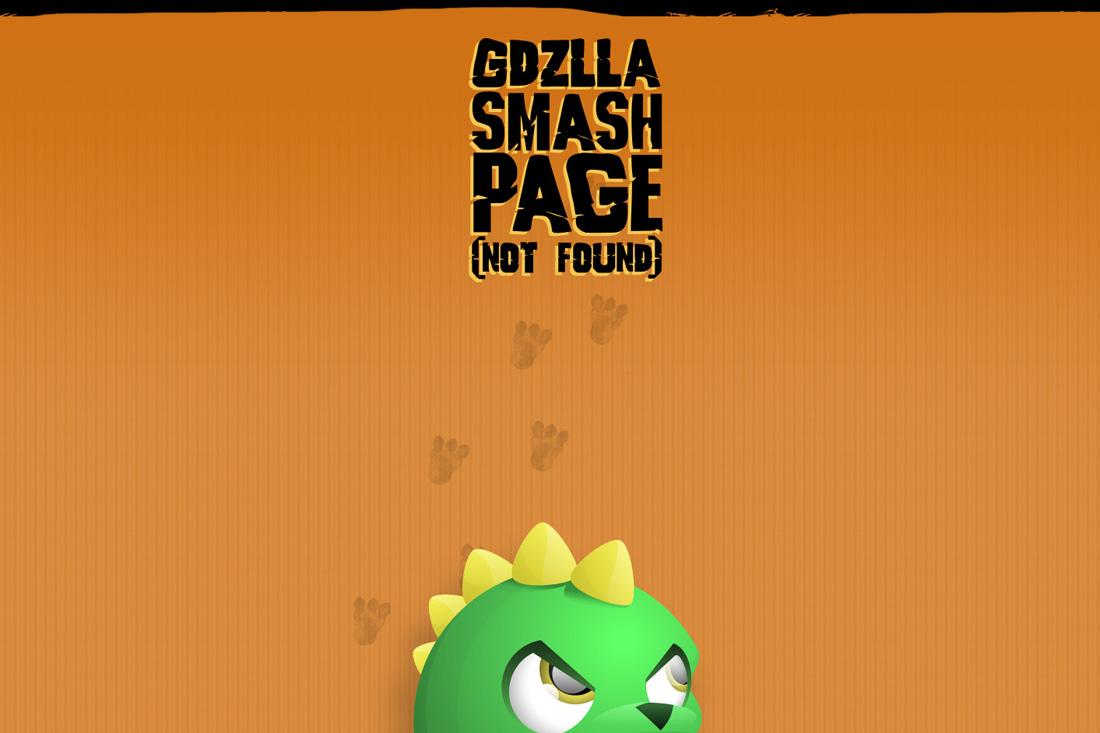 Анимация на странице 404