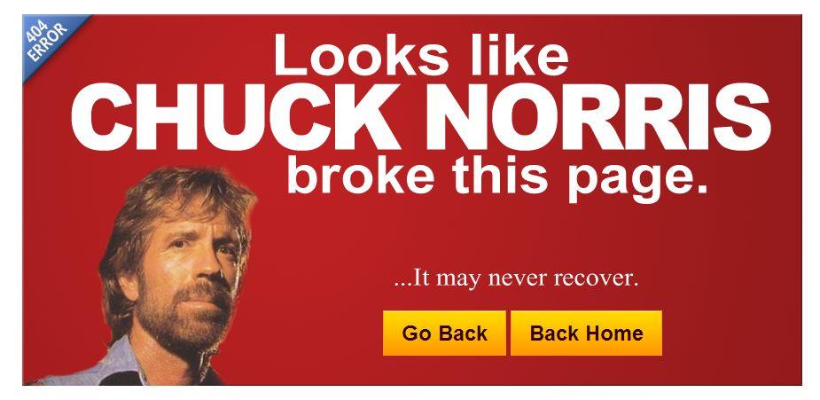 Юмор на странице 404