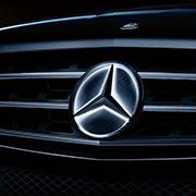 Лендинг для дилера Mercedes-Benz