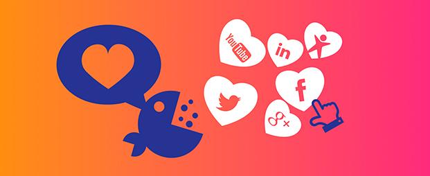 Увеличение активности в социальных сетях