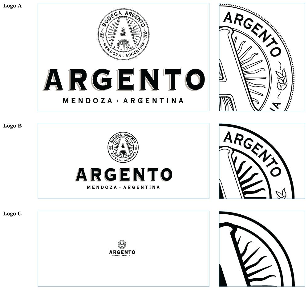 Логотип Argento